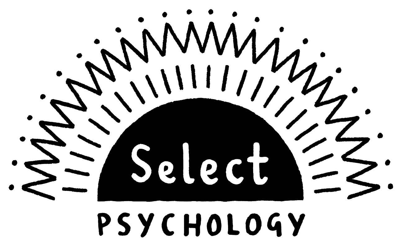 Select Psychology Black Line RGB